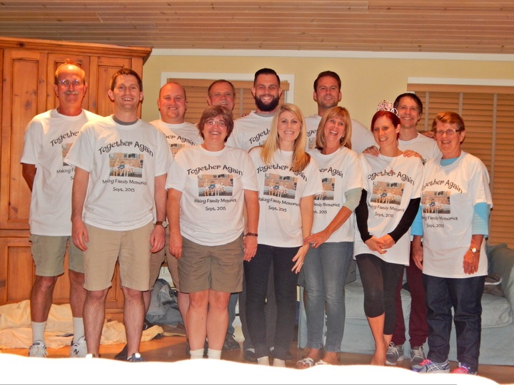 Family Reunion 25 Years Later T-Shirt Photo