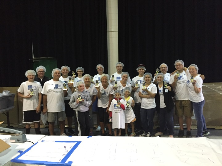 Feed My Starving Children Mobilepack T-Shirt Photo