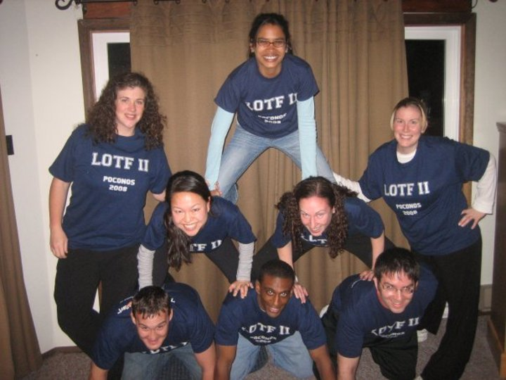 Human Pyramid Of Lotfi Iers T-Shirt Photo