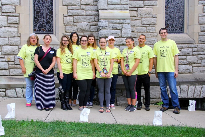 Walk For Hope 2015 T-Shirt Photo