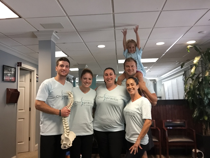 Coastal Chiropractic T-Shirt Photo