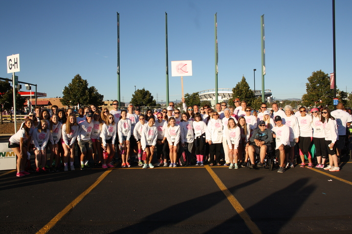 Kim's Crusaders At Komen Denver Race For The Cure T-Shirt Photo