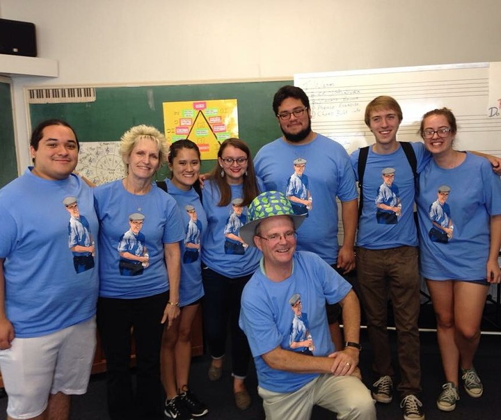 St. Edwards University Music Department Ta Staff  T-Shirt Photo