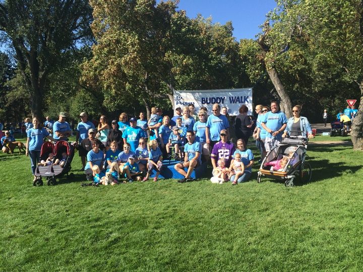 Jernie's Buddy Walk 2015 T-Shirt Photo