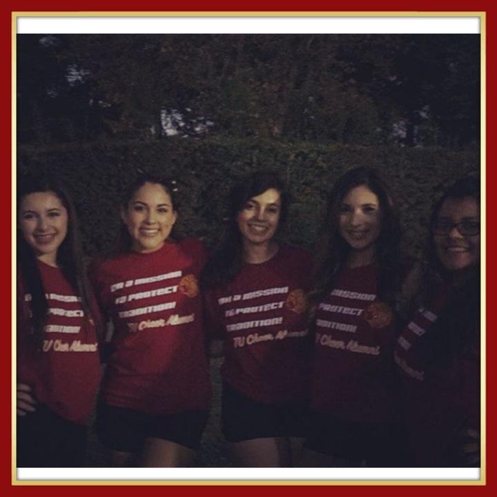 Tulare Union Cheer Alumni T-Shirt Photo