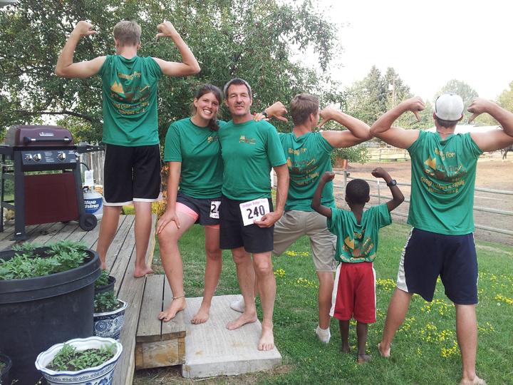 Runners!  T-Shirt Photo