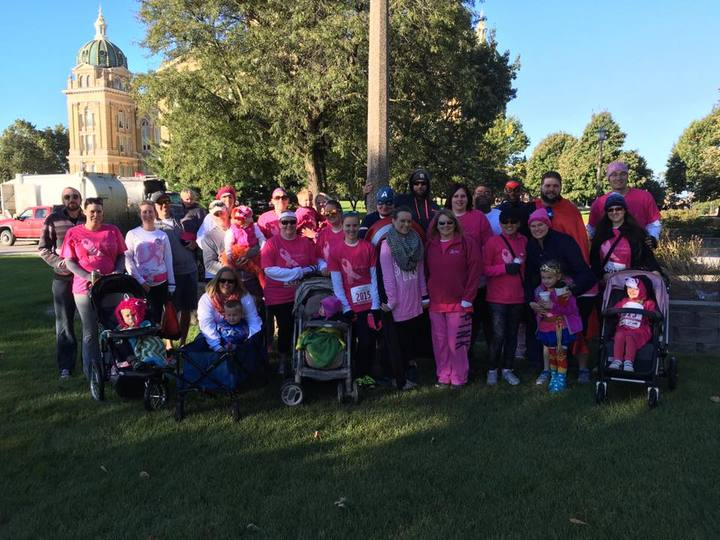 Sharleen's Superheroes Race For The Cure T-Shirt Photo