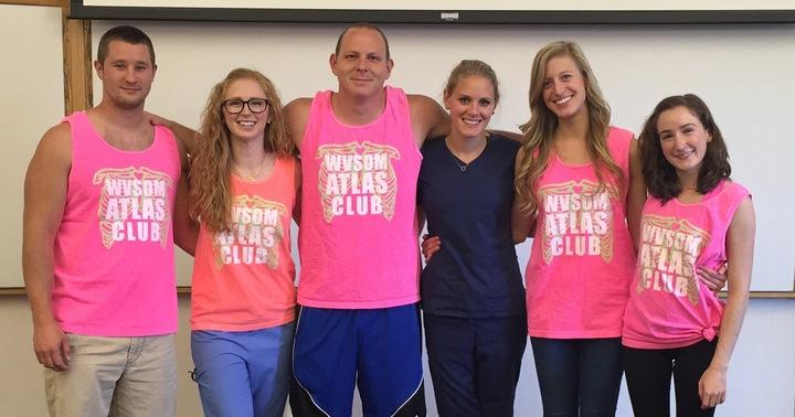 Wvsom Anatomy Club T-Shirt Photo