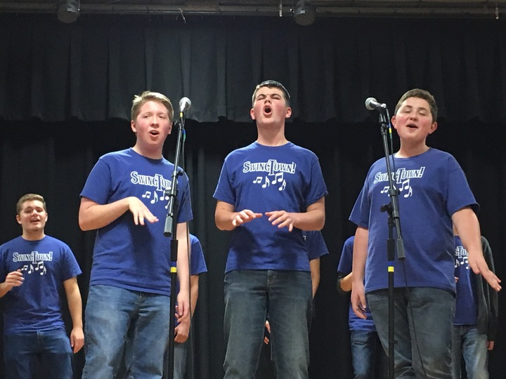 Swing Town Singers T-Shirt Photo