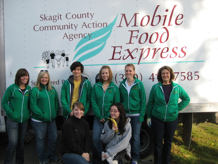 Ameri Corps Team Makes A Difference In Custom Track Jackets! T-Shirt Photo