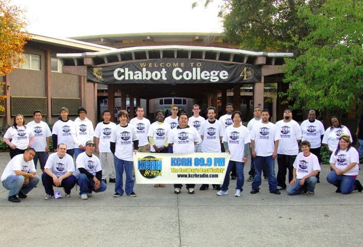 Kcrh 89.9 Fm Chabot College Radio T-Shirt Photo