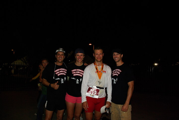 Ironman Az 2008 Support Crew With New Ironman T-Shirt Photo