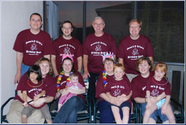 Gwen's & Erin's Birthday Bash T-Shirt Photo