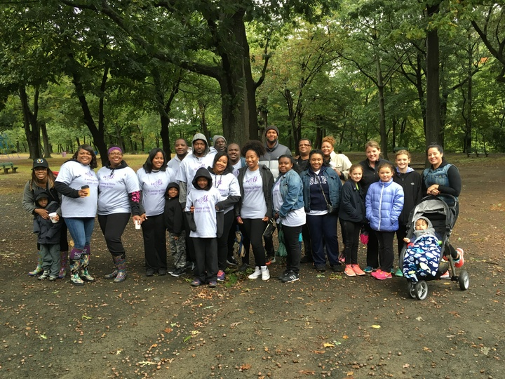 Team Pretty Pat  Walk Against Domestic Violence T-Shirt Photo