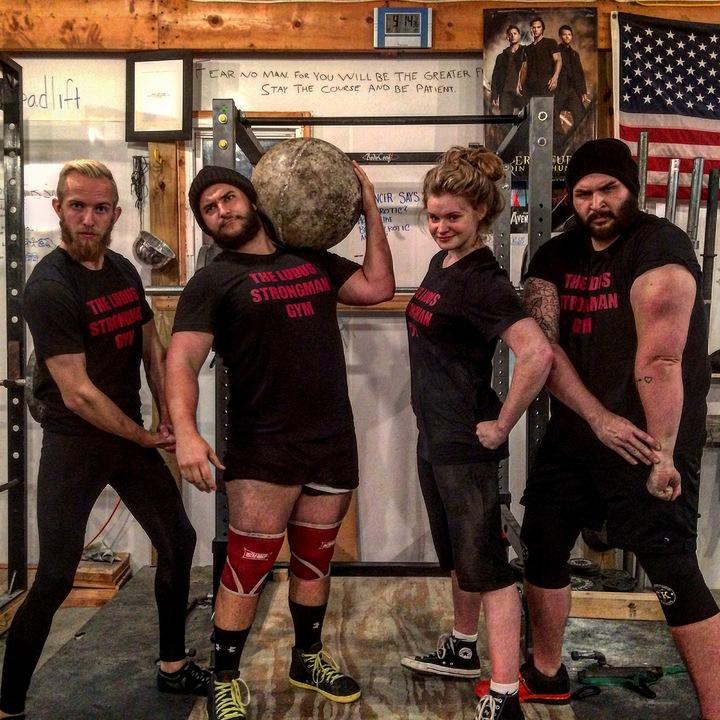 The Ludus Strongman Gym T-Shirt Photo