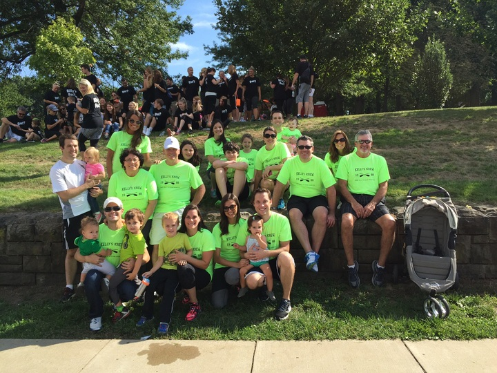 Kelly's Krew Walk For Diabetes 2015 T-Shirt Photo