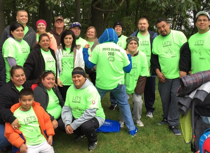 Diabetes Walk 2015 T-Shirt Photo