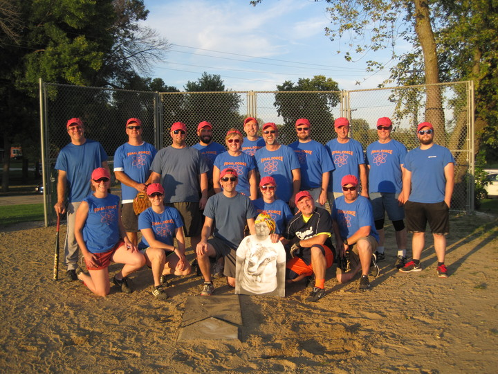 Final Force   2015 Fermilab Softball Champs T-Shirt Photo