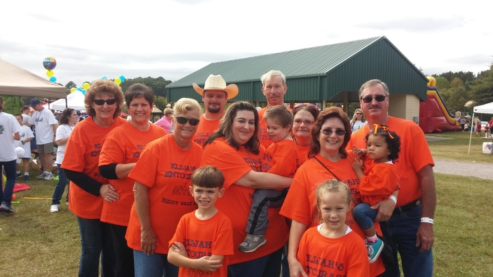 Buddy Walk 2015  Elijah's Entourage T-Shirt Photo