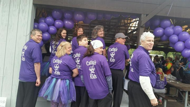 Cathy's Kids   Raising Awareness For Alzheimer's T-Shirt Photo