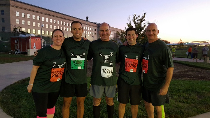 "Army Ten Miler 2015   ""We're Mutts!"" T-Shirt Photo"