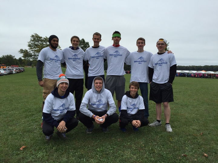 Brian's Pancreasses Team   Jdrf Walk  T-Shirt Photo