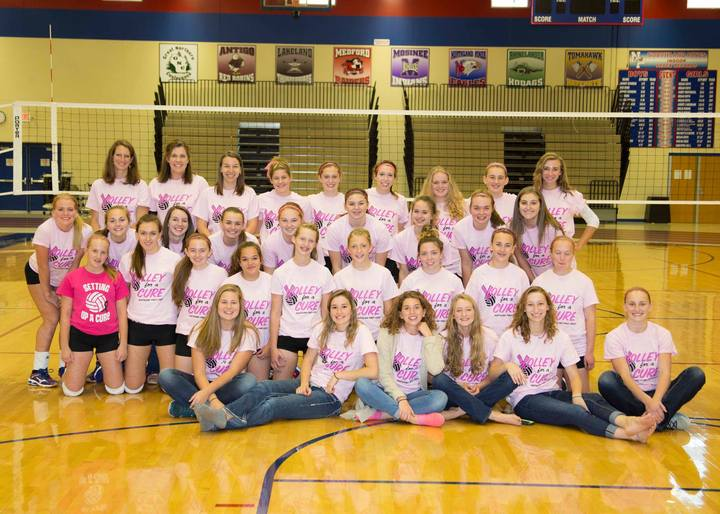 Northland Pines Volley For A Cure T-Shirt Photo