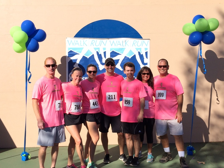 Cancer Center Run/Walk 5 K/10 K  T-Shirt Photo