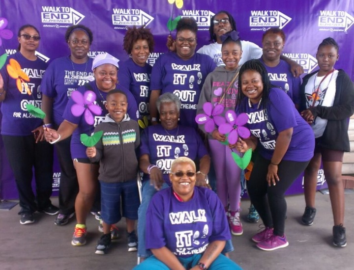 Walk It Out For Alzheimer's  T-Shirt Photo