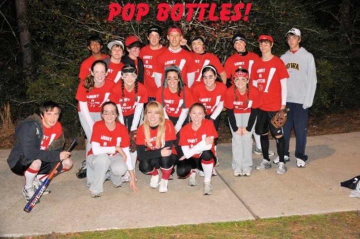 Team Pop Bottles! :) T-Shirt Photo