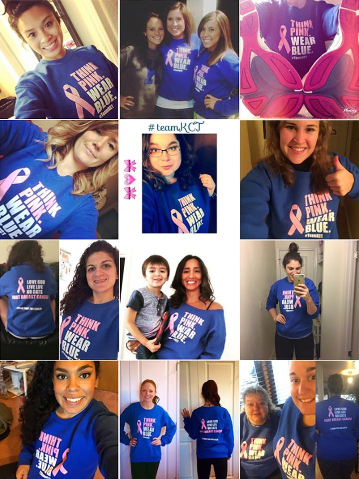 #Team Kct T-Shirt Photo