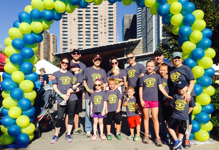 Team Eyes & Shine, 2015 Houston Vision Walk T-Shirt Photo