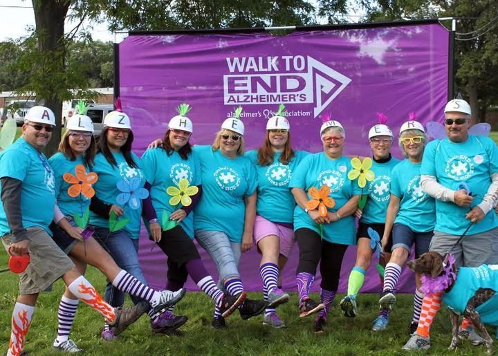 Team Turnbull 2015 Alz Walk T-Shirt Photo