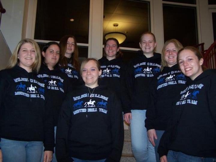 Wilson College Mounted Drill Team '07 T-Shirt Photo
