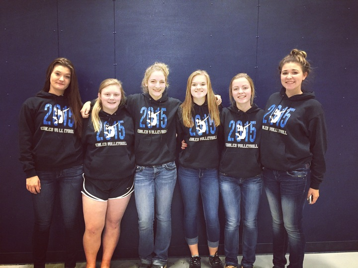Eagles Volleyball  T-Shirt Photo