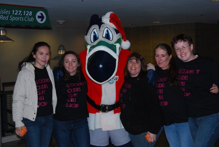 The Googg Visits The Seattle T Birds!! T-Shirt Photo
