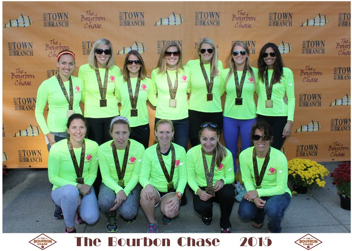 Fast Fillies Conquer Bourbon Chase 2015 T-Shirt Photo