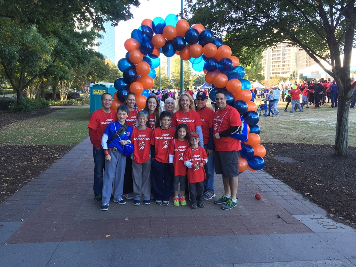 Jdrf Walk Atlanta Team Nathan T-Shirt Photo