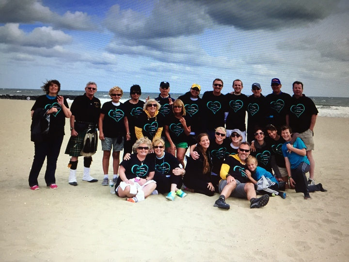 Team Sunshine For Ovarian Cancer..Memory Of Cuz Val T-Shirt Photo