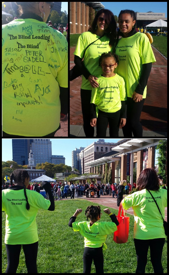 Philly Vision Walk 2015 T-Shirt Photo