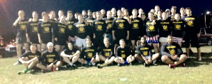 Oakland Rugby New Warm Ups! T-Shirt Photo