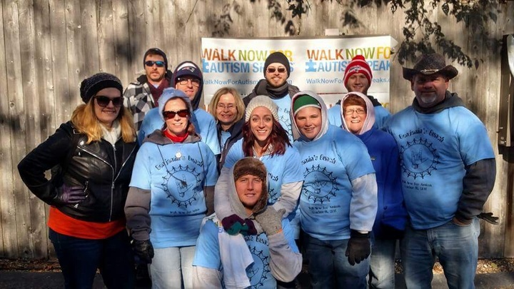 Walking For A Cause T-Shirt Photo