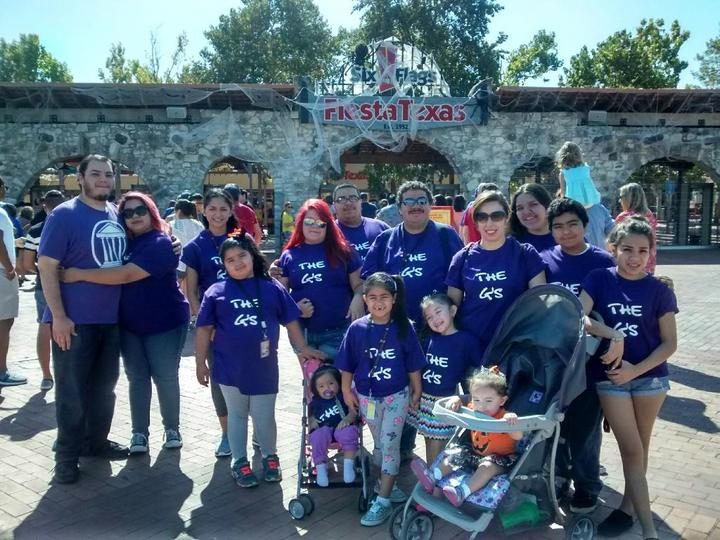 The G's At Fiesta Texas' Frightfest T-Shirt Photo