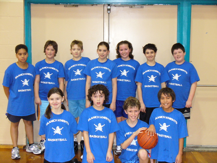 Saanich Knights Basketball Grade 5/6 T-Shirt Photo