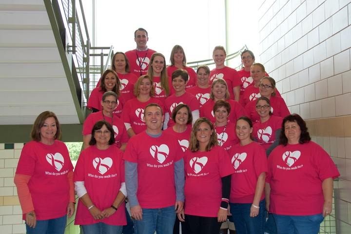 Team Diane! Walking To End Breast Cancer! T-Shirt Photo