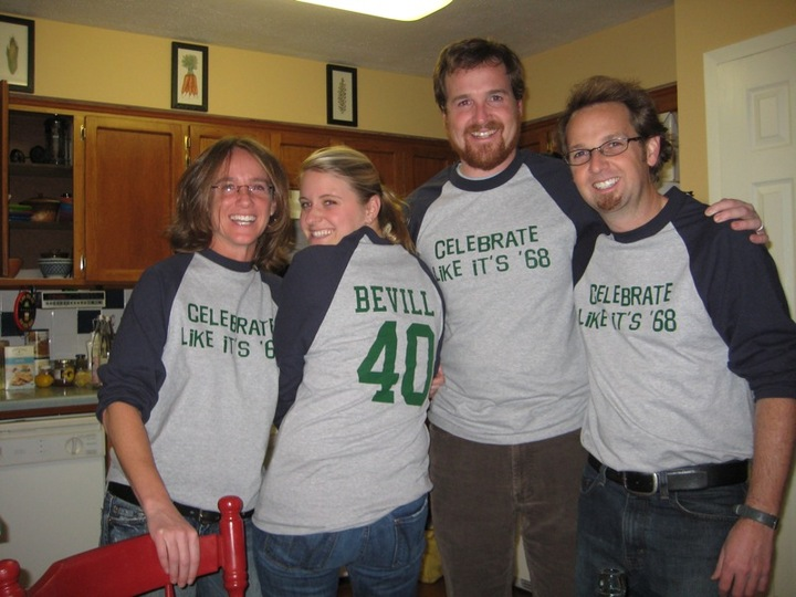 Rob's 40th Birthday Shirts T-Shirt Photo