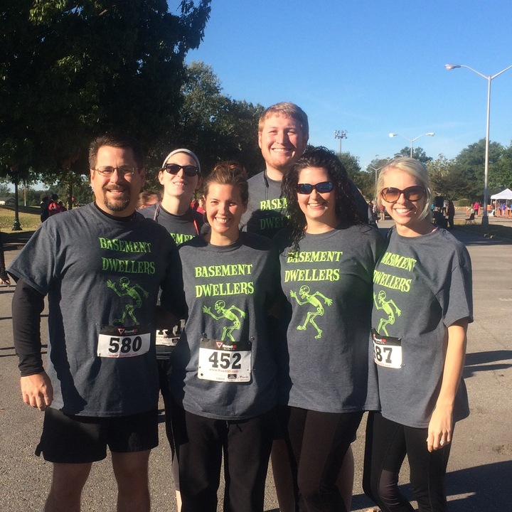 Basement Dwellers 5 K Team T-Shirt Photo