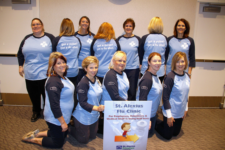 Got A Pulse? Get A Flu Shot. T-Shirt Photo