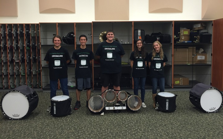 Livinston High School Drumline  T-Shirt Photo