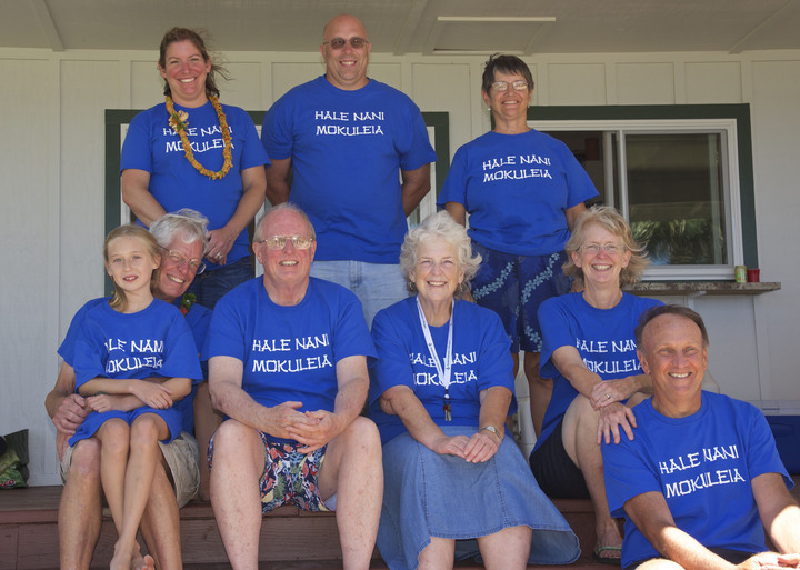 The Hale Nani Mokuleia Family Group T-Shirt Photo